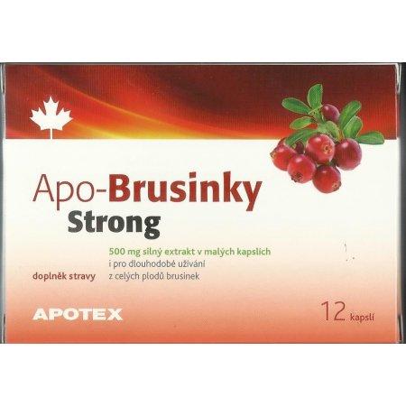 Apo-brusinky Strong 12 kapslí