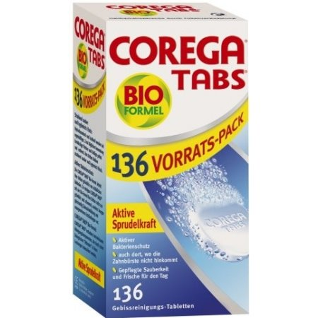 Corega Tabs Bio Formula 136 tablet