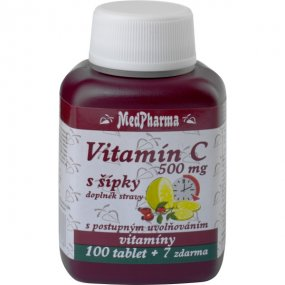 Medpharma Vitamin C 500 mg 100+7 tablet