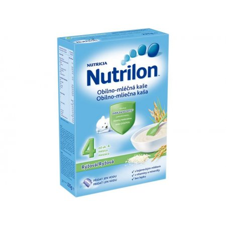 Nutrilon kaše mléčná rýžová 225g