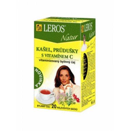 Leros Natur Průdušky s vitamin.C 20x1,5g