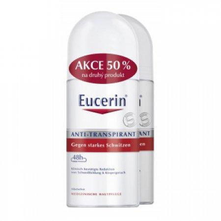 Eucerin Deo Kuličkový antiperspirant duopack 2x50 ml