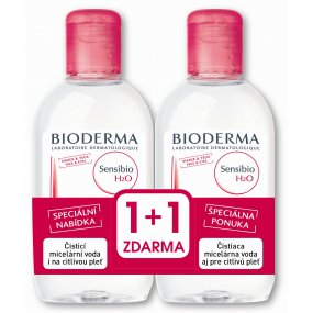 BIODERMA Sensibio H2O 250 ml 1+1 ZDARMA