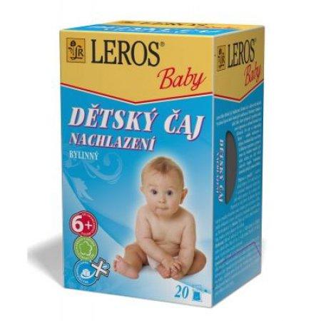 LEROS BABY Dětský čaj Nachlazení 20x2 g