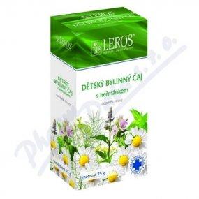 LEROS Dětský bylinný čaj s heřmánkem 20x1,5g