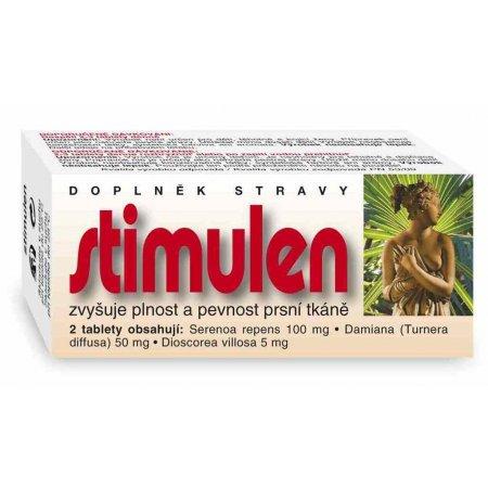 Stimulen přírodní stimulace pevnosti a velikosti poprsí 60 tablety