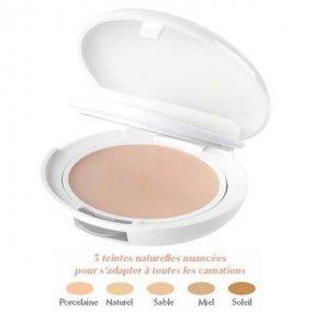 AVENE Couvrance Kompaktní make up salbe  (odstín 3) - Creme de Teint Compacte 9,5g - pudrový vzhled