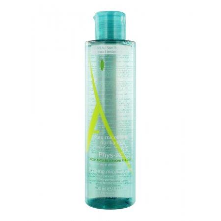 A-Derma Phys-AC micelární voda pro problematickou pleť, akné 200 ml