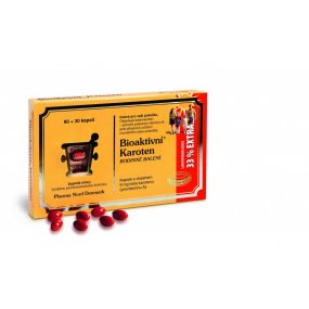 Pharma Nord Bioaktivní Karoten rodinné balení 120 kapslí