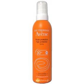 AVENE Sun opalovací sprej SPF 30 - Spray haute protection 200 ml