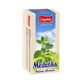 Apotheke Meduňka lékařská čaj 20x1.5g n.s