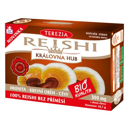 TEREZIA COMPANY Reishi 50 +10 kapslí ZDARMA