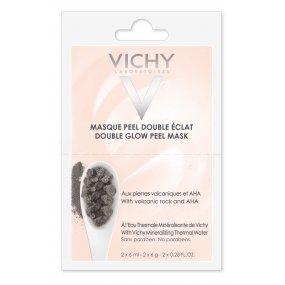 VICHY Rozjasňující pleťová peelingová maska 2x6 ml