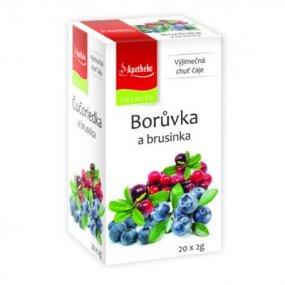 APOTHEKE Borůvka a brusinka 20x2 g
