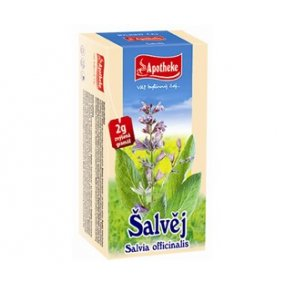Čaj Šalvěj lékařská 20x2g n.s.Apotheke