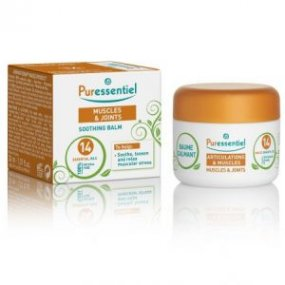 PURESSENTIEL Zjemňující balzám na bolavé svaly a klouby 14 esenciálních olejů 30 ml