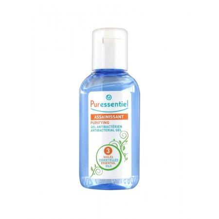 PURESSENTIEL Antibakteriální gel na ruce - 3 aromaesenciální oleje 80 ml
