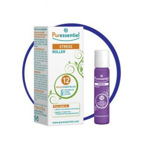 PURESSENTIEL Roll-on proti stresu 12 esenciálních olejů 5 ml