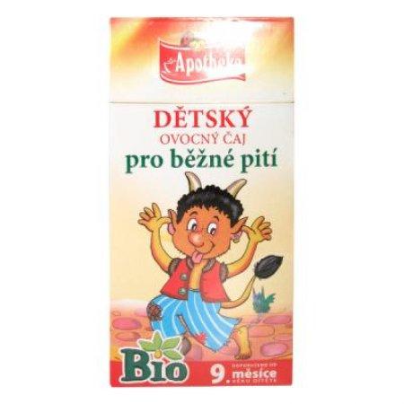 Apotheke Dětský čaj BIO ovocný od 9. měsíce 20x2g