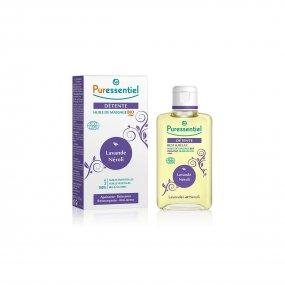 PURESSENTIEL Masážní olej pro uvolnění a relaxaci - levandule&neroli 100 ml