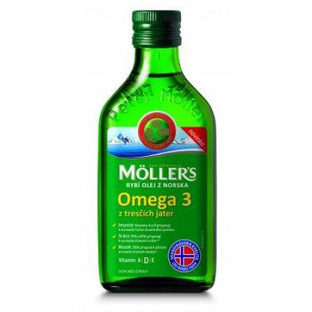 MÖLLER´S Omega 3 Natur olej 250 ml