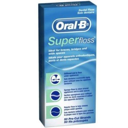 Oral-B dentální nit Superfloss 50 proužků
