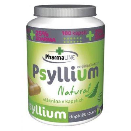 Psyllium Natural 125 kapslí