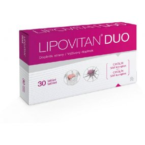 HERBACOS Lipovitan DUO 30 tablet