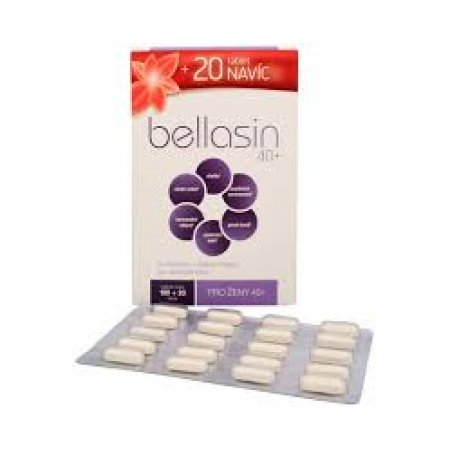 Bellasin 40+  100+20 tablet zdarma