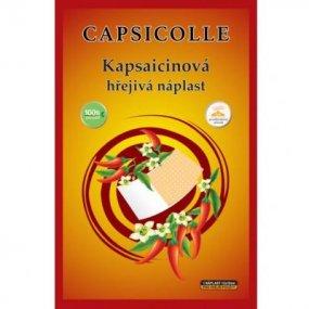 Capsicolle Kapsaicinová hřejivá náplast 12 x 18 cm