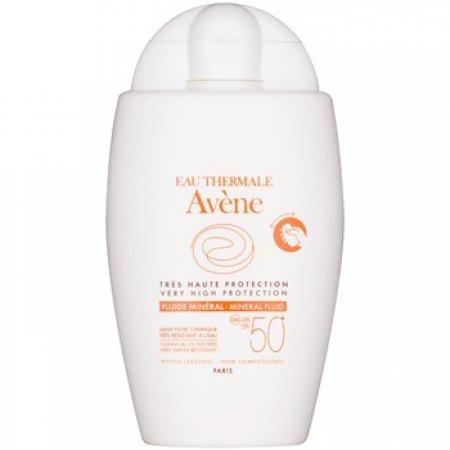 Avene Sun Mineral ochranný fluid bez chemických filtrů SPF 50+
