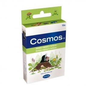 COSMOS Dětská náplast s krtečkem 16 kusů