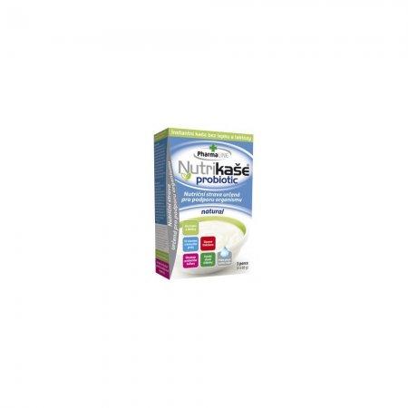 PHARMALINE Nutrikaše probiotic natural 180 g (3x60 g)