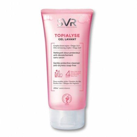 SVR Topialyse gel lavant 200 ml - mycí gel bez mýdla na suchou a citlivou pokožku