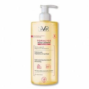 SVR Topialyse huile lavante 1000 ml - mycí relipidační olej na suchou až atopickou pokožku
