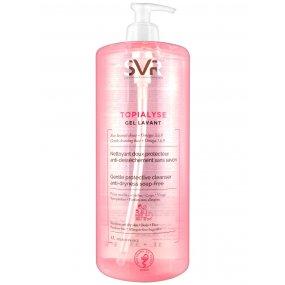 SVR Topialyse gel lavant 1000 ml - mycí gel bez mýdla na suchou a citlivou pokožku