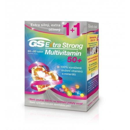 GS Extra Strong Multivitamin 50+ 60+60 tablet Vánoce 2018
