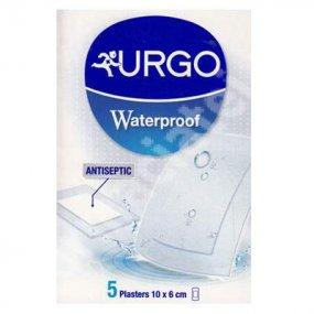Náplast URGO Waterproof 5 ks 10x6cm