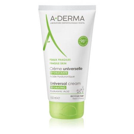 A-Derma Universal Cream univerzální krém s kyselinou hyaluronovou 150 ml