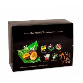 Čaj MAXI Majestic Tea n.s. 60ks Biogena