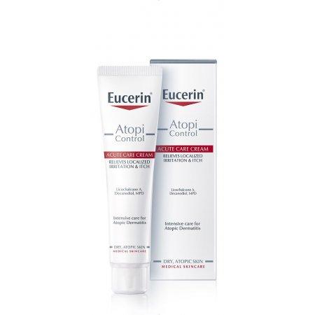Eucerin Acute krém AtopiControl 40 ml - zmírňuje svědění a podráždění