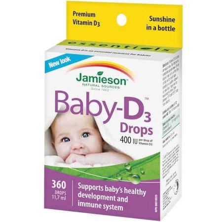 Jamieson Baby-D Vitamín D 11.7 ml kapky