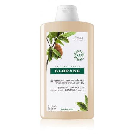 Klorane šampon Cupuaçu Bio vyživující šampon pro suché a poškozené vlasy 400 ml