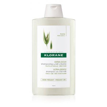 KLORANE šampon s ovesným mlékem 400 ml - Denní použití