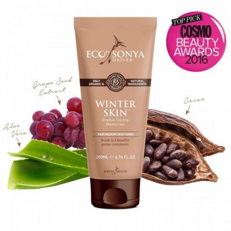 Eco by Sonya přírodní samoopalovací krém pro jemné opálení | Winter Skin 200 ml