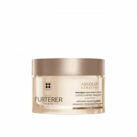 Rene Furterer ABSOLUE KÉRATINE - obnovující maska pro extrémně poškozené vlasy 200 ml