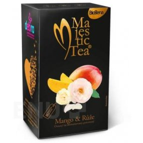 Čaj Majestic Tea Mango & Růže 20x2.5g