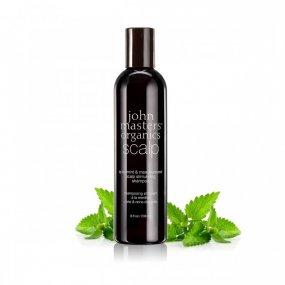 John Masters organics Stimulující šampon pro citlivou pokožku hlavy 236 ml