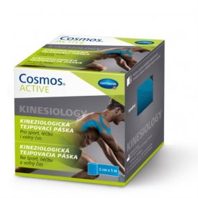 Cosmos Active - Kinezio tejp. páska modrá 5cmx5m